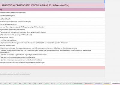 Formular E1a